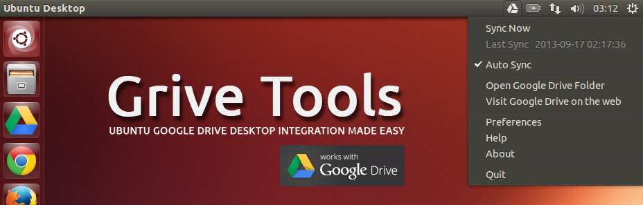 Ubuntu Google Drive Client with Grive and Grive Tools | How To | The