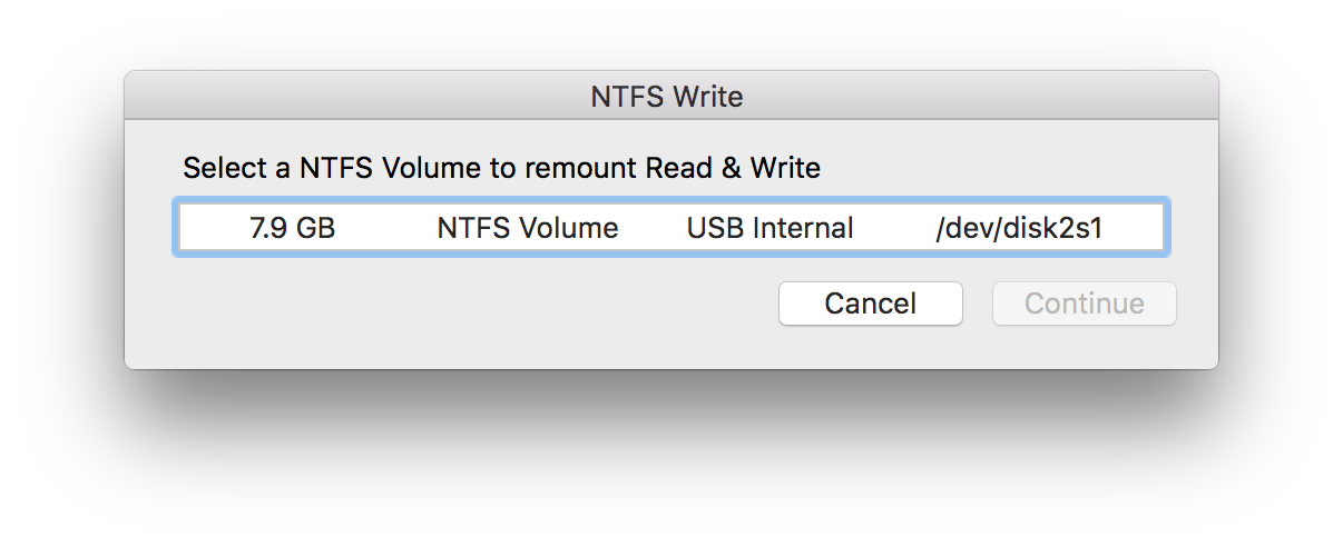 write to ntfs mac Update: the usage of third party tools for ntfs support is no longer necessary, as mac os x includes ntfs read & write support natively, here's how to enable itwhile newer versions of the mac operating system support ntfs without any third party add-ons, older versions of os x may still find value in macfuse.